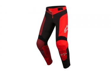 Alpinestars pantalon vector noir rouge 36