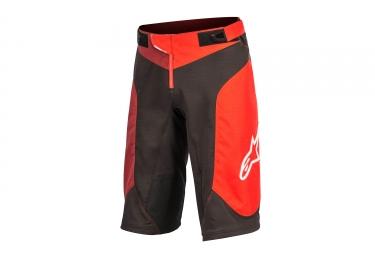 Alpinestars short vector noir rouge 30