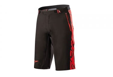 Alpinestars short mesa noir rouge 34