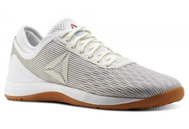 Chaussures de cross training reebok nano 8 flexweave blanc beige 45 1 2