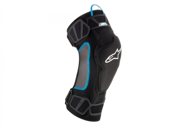 ALPINESTARS Knee Guard E-RIDE Black cyan
