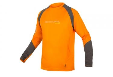 Maillot Manches Longues Endura MT500 Burner Orange