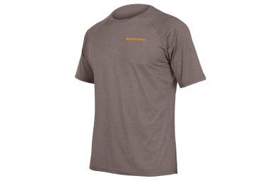 T shirt technique endura singletrack lite gris s