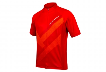 Maillot Manches Courtes Endura Hummvee Ray Rouge