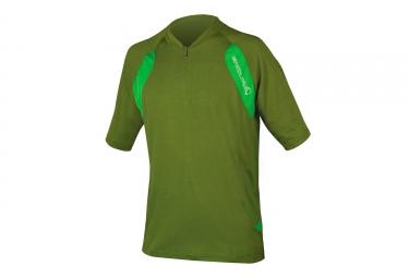Endura SingleTrack Lite Kurzarmtrikot Grün