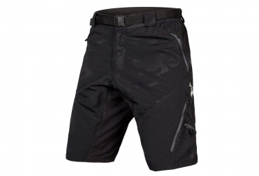 Endura Short Hummvee II Black Camo