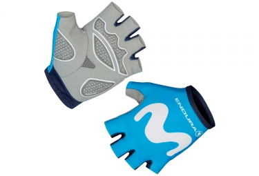 Gants Courts Endura Race Movistar Team