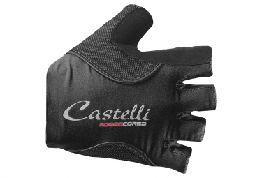 Guantes Mujer Castelli 2018 Rosso Corsa Pave Negro