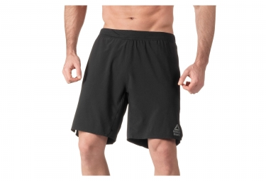 Short de sport reebok super nasty speed ii noir l