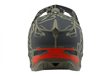 Troy Lee Designs D3 Fiberlite Factory Helmet Trooper