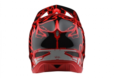 Casco Integral Troy Lee Designs D3 Fiberlite Mono Rouge