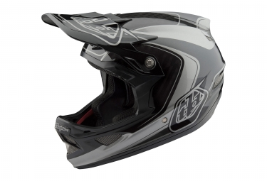 Troy Lee Designs D3 Carbon Mirage Mips Helmet Grey