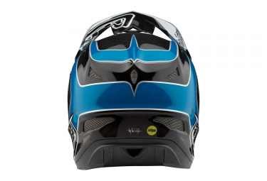 Casque Intégral Troy Lee Designs D3 Carbon Mirage Mips Bleu