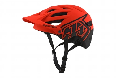 casque troy lee designs a1 classic mips orange 2018 xl xxl 60 62 cm