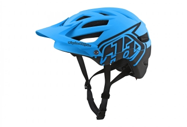 casque troy lee designs a1 classic mips bleu 2018 s 54 56 cm