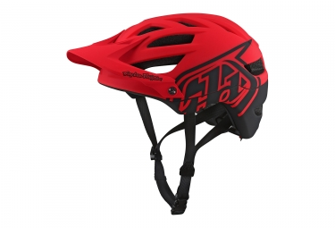 casque troy lee designs a1 classic mips rouge 2018 s 54 56 cm