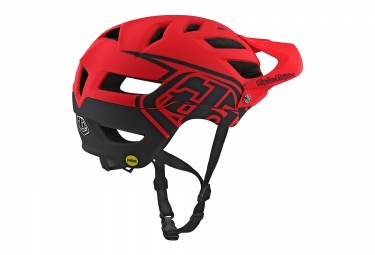 Casque Troy Lee Designs A1 Classic Mips Rouge 2018