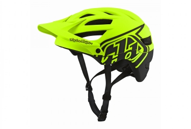 casque troy lee designs a1 classic mips jaune 2018 m l 57 59 cm