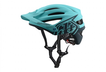 Troy lee casque a2 mips decoy aqua m l