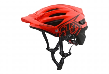 Troy lee casque a2 decoy orange m l