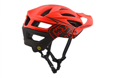 Casque Troy Lee Designs A2 Decoy Mips Orange 2018