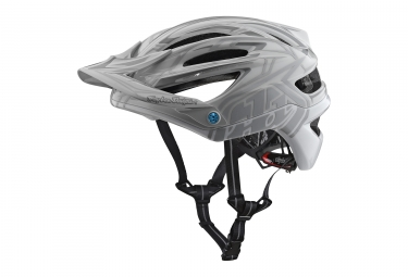 Casque Troy Lee Designs A2 Pinstripe 2 Mips Gris Blanc 2018