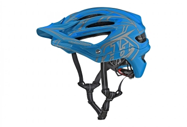 Casque troy lee designs a2 pinstripe 2 mips bleu 2018 xl xxl 60 62 cm