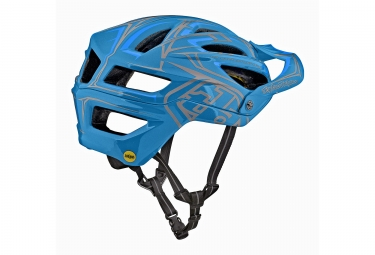 Casque Troy Lee Designs A2 Pinstripe 2 Mips Bleu 2018