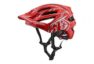 Casque troy lee designs a2 pinstripe 2 mips rouge 2018 xl xxl 60 62 cm