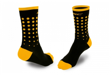 MSC Flamingo Socks Yellow Black