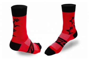 MSC FiveStars Socken Rot