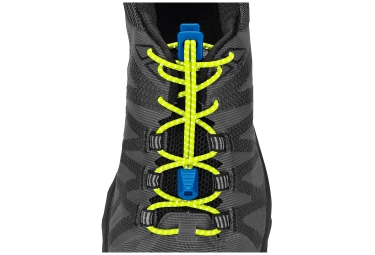 Nathan Reflective Run Laces Yellow