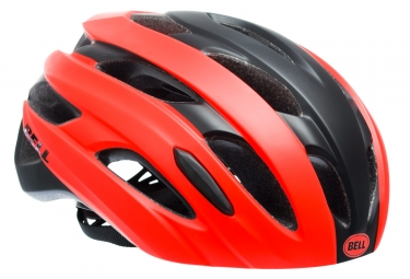 Casque Bell event Noir Orange
