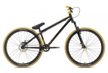 velo de dirt ns bikes metropolis 3 noir jaune 2018