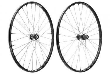 paire de roues shimano xtr m9000 29 15x100 12x142mm corps shimano sram