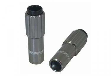 Jagwire CHA035 Derailleur Cable Tension Barrel Adjusters Silver