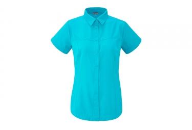 Lafuma Femme Skim Chemise Caribbean Bleu
