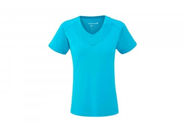 Lafuma femme track t shirt caribbean bleu m