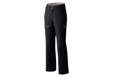 Pantalon femme mountain hardwear stretch ozonic noir l