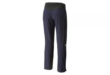 Pantalon Mountain Hardwear Touren Noir Bleu