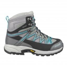 Zapatillas de trekking para mujer Lafuma Atakama II Ice Azul Gris