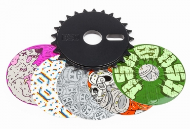 BSD Sticker Bomb Sprocket Black