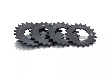 pignon fixe 1 8 miche pista aluminium 7075 noir gris 18