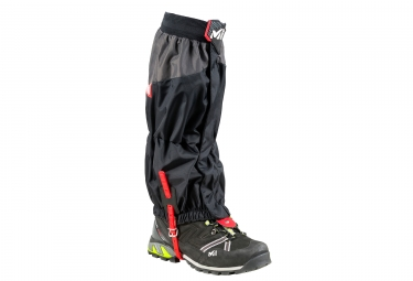Millet High Route Gaiters Black Red