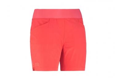 Short femme millet wanaka stretch corail l