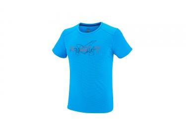 T shirt manches courtes millet expert electric bleu xl