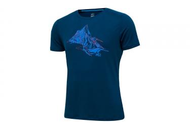 Millet Needles T-Shirt Blue