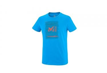 Millet Millet Rise Up T-Shirt Short Sleeves Electric Blue