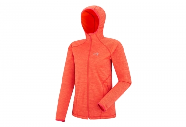 Millet Tweedy Mountain Women's Hoodie Hot Coral