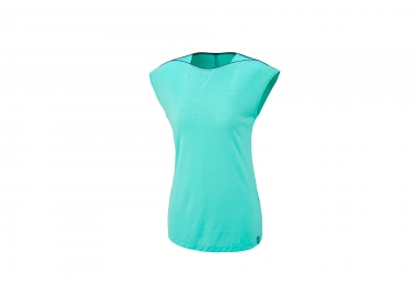 T-Shirt Manches Courtes Femme Millet Cloud Peak Wool Pool Bleu